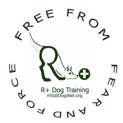 R+ Dog Training Logo